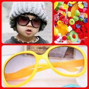 Other - Brand new! Yellow Kids' Sunglasses